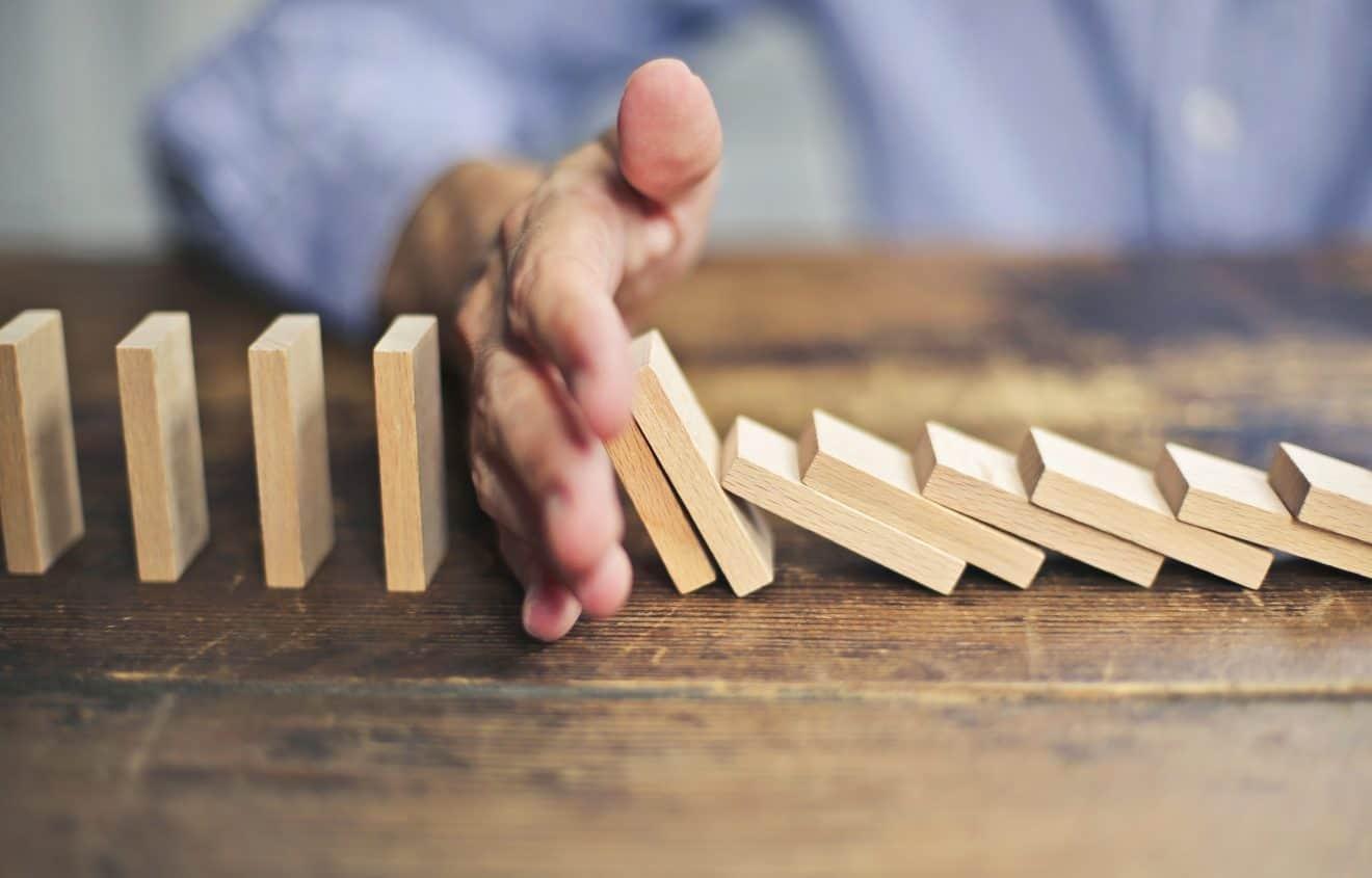 Dominoeffekte im Leben hinnehmen?